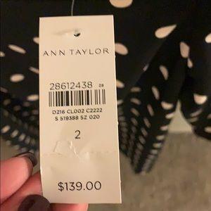 Ann Taylor Dresses - NWT Ann Taylor Polka Dot Square Neck Shift Dress